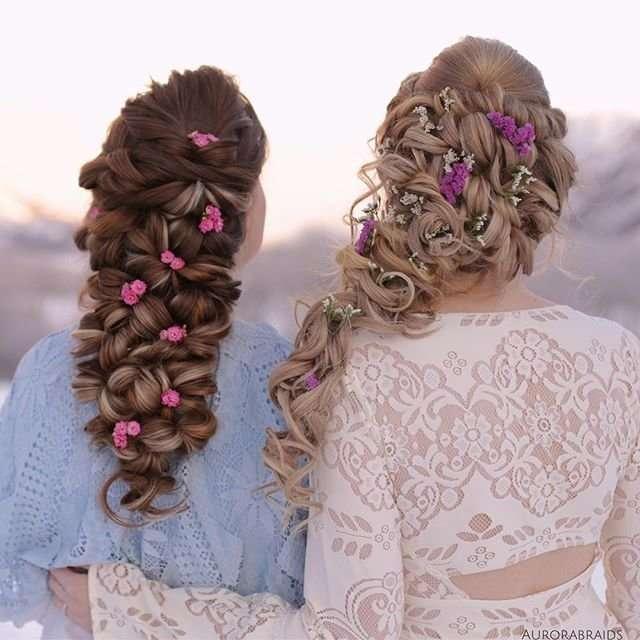 Косы норвежских сестер покорили интернет