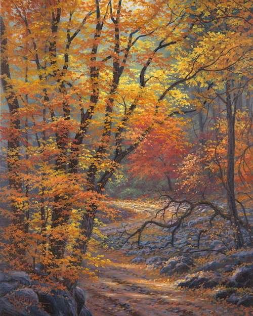 Чарующая осень Чарльза Уайта