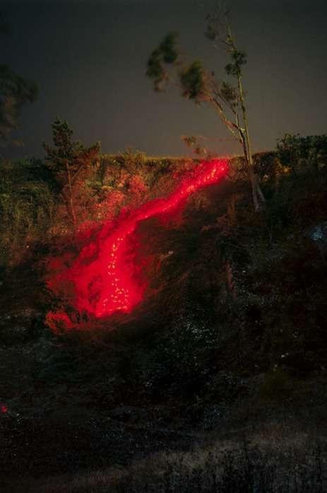 Освещённые ландшафты фотографа Barry Underwood