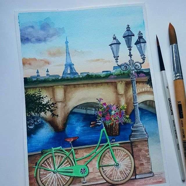 Работы начинающей художницы и ее мир