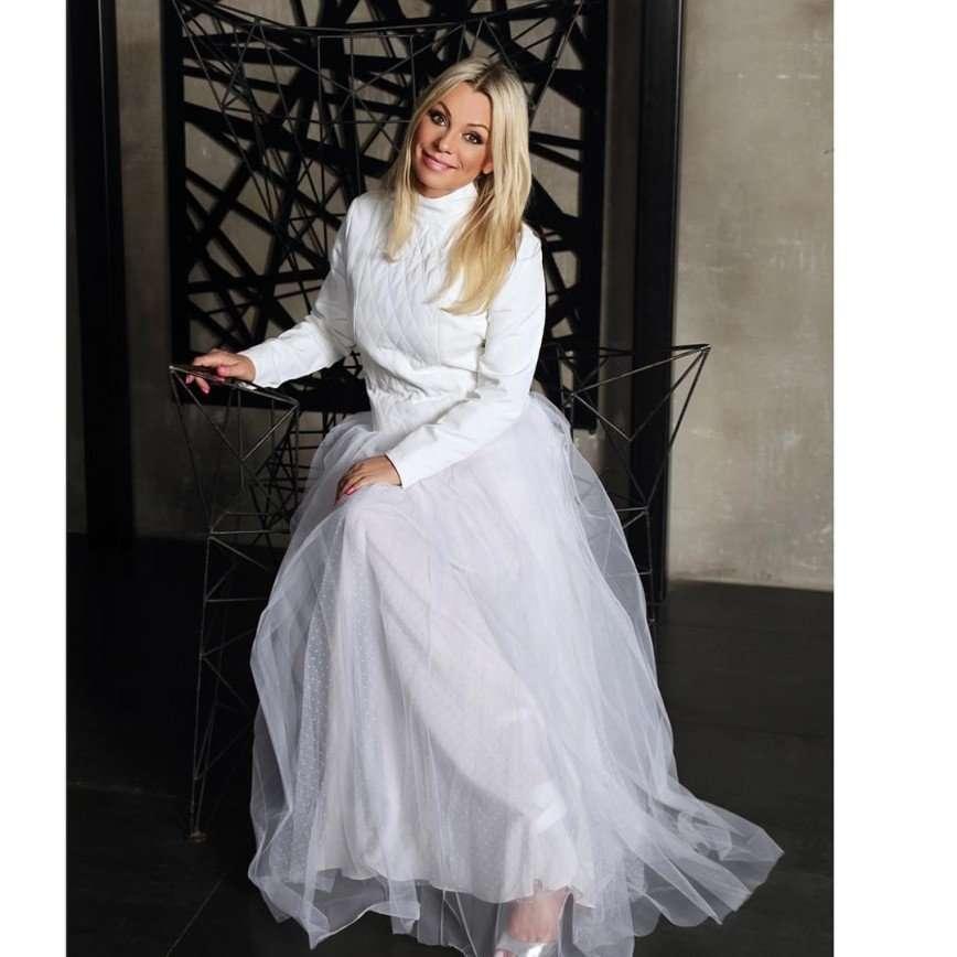 Белое платье Ирины Салтыковой спровоцировало слухи о свадьбе