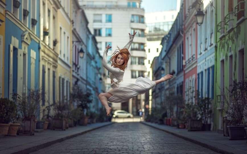 Великолепные портреты гимнастов и танцоров