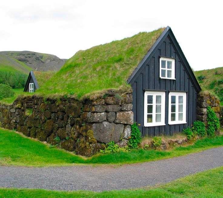 Дома в буквальном смысле слившиеся с природой