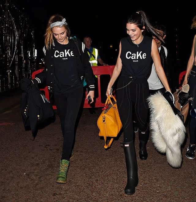 Кара Делевинь и Кендалл Дженнер запускают линию одежды CaKe